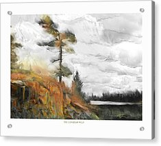 Acrylic Print featuring the painting The Canadian Wild by Bob Salo
