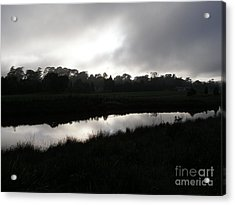 The Canal Acrylic Print by Bev Conover