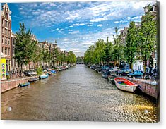 Acrylic Print featuring the photograph The Canal by Brent Durken