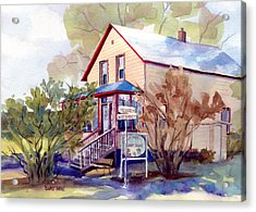 The Candy Shoppe Acrylic Print by Kris Parins
