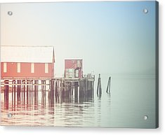 The Cannery In Fog Acrylic Print