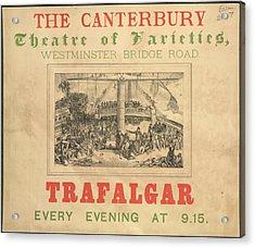 The Canterbury Acrylic Print