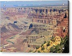 The Canyon Desert View Acrylic Print by Douglas Miller