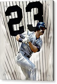The Captain Donnie Baseball Don Mattingly Acrylic Print