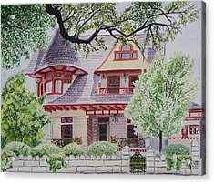 the Captain's House Acrylic Print