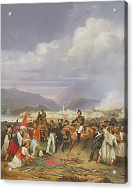 The Capture Of Morea Castle, 30th October 1828, 1836 Oil On Canvas Acrylic Print by Jean Charles Langlois