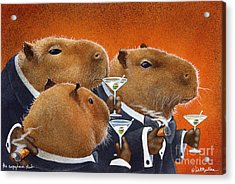 The Capybara Club... Acrylic Print