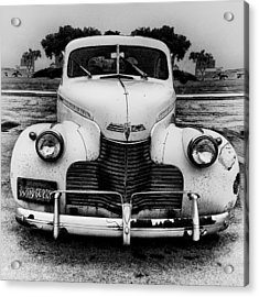 The Car In Texas Acrylic Print