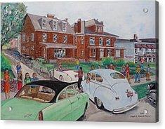 The Car Movers Of Phi Sigma Kappa Osu 43 E. 15th Ave Acrylic Print