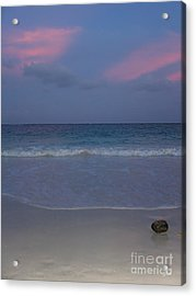 The Caribbean Sunset Acrylic Print