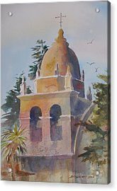 The Carmel Mission Acrylic Print
