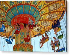 Acrylic Print featuring the photograph The Carnival by Tamyra Crossley