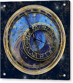 The Carousel Of Time Acrylic Print