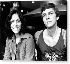 The Carpenters 1972 Acrylic Print