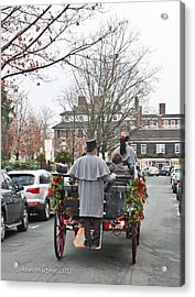 Acrylic Print featuring the photograph The Carriage Ride by Ann Murphy