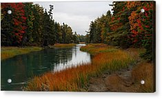 The Carrying Place Acrylic Print by Mike Farslow