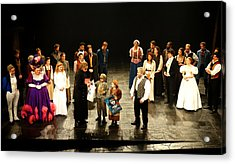 The Cast Of Les Miserables Acrylic Print
