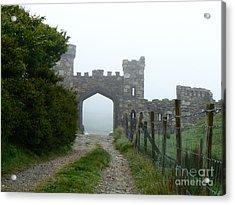 The Castle Gate Acrylic Print