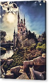 Acrylic Print featuring the photograph The Castle by Joshua Minso