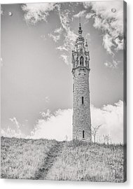 The Castle Tower Acrylic Print by Scott Norris