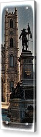 The Cathedral-basilica Of Mary Queen Of The World  Acrylic Print by Lee Dos Santos