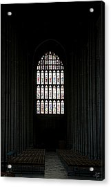 The Cathedral Sits Empty Acrylic Print by Lisa Knechtel