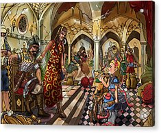 The Cave Of Ali Baba Acrylic Print by Reynold Jay