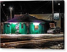 The Cedar St. Inn Acrylic Print by Ray Congrove