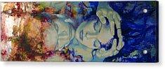 The Celestial Consonance Acrylic Print by Dorina  Costras