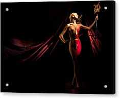 The Cellist - Wide Format Acrylic Print