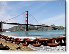 The Chain On The Gate Acrylic Print