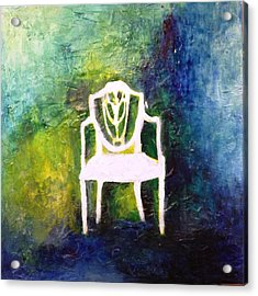 The Chair Acrylic Print by Andrea Friedell