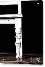 The Chair Acrylic Print by Edward Fielding