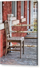 The Chair  Acrylic Print by JC Findley