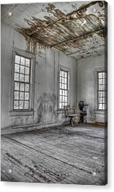 The Chair - Redux Acrylic Print by Mark Alder