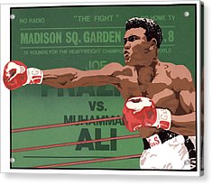 The Champ Acrylic Print by Anne Gifford
