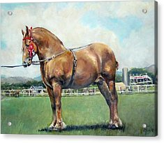 Acrylic Print featuring the painting The Champ by Donna Tucker