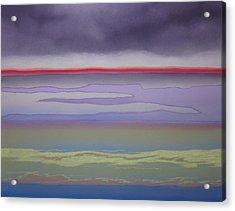 The Changing Skies Acrylic Print by Harvey Rogosin