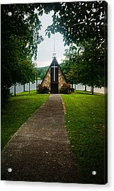 The Chapel On The Lake Acrylic Print