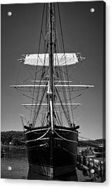 Acrylic Print featuring the photograph The Charles W. Morgan by Ben Shields