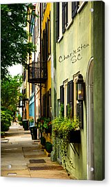 The Charm Of Charleston Acrylic Print