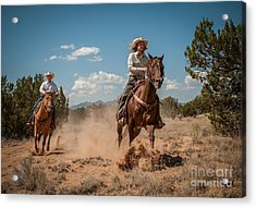 The Chase Acrylic Print
