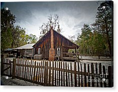 The Chesser Homestead Acrylic Print by Southern Photo