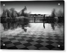 The Chessplayer Acrylic Print