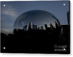 The Chicago Bean In Millenium Park Acrylic Print