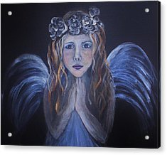 The Child Within Acrylic Print by The Art With A Heart By Charlotte Phillips