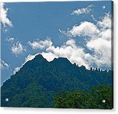 The Chimney Tops Acrylic Print by Rita Mueller