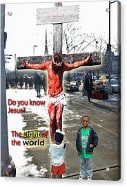 The Christ In Harlem Acrylic Print