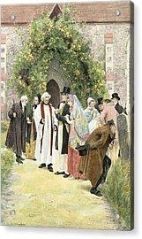The Christening Acrylic Print