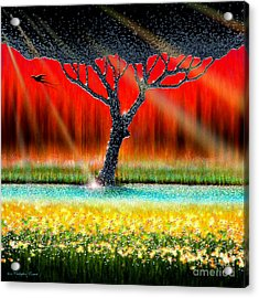 The Chrome Tree Acrylic Print